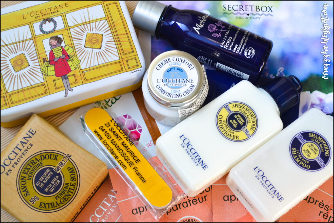 Beauty Box Secret Box L'Occitane Review