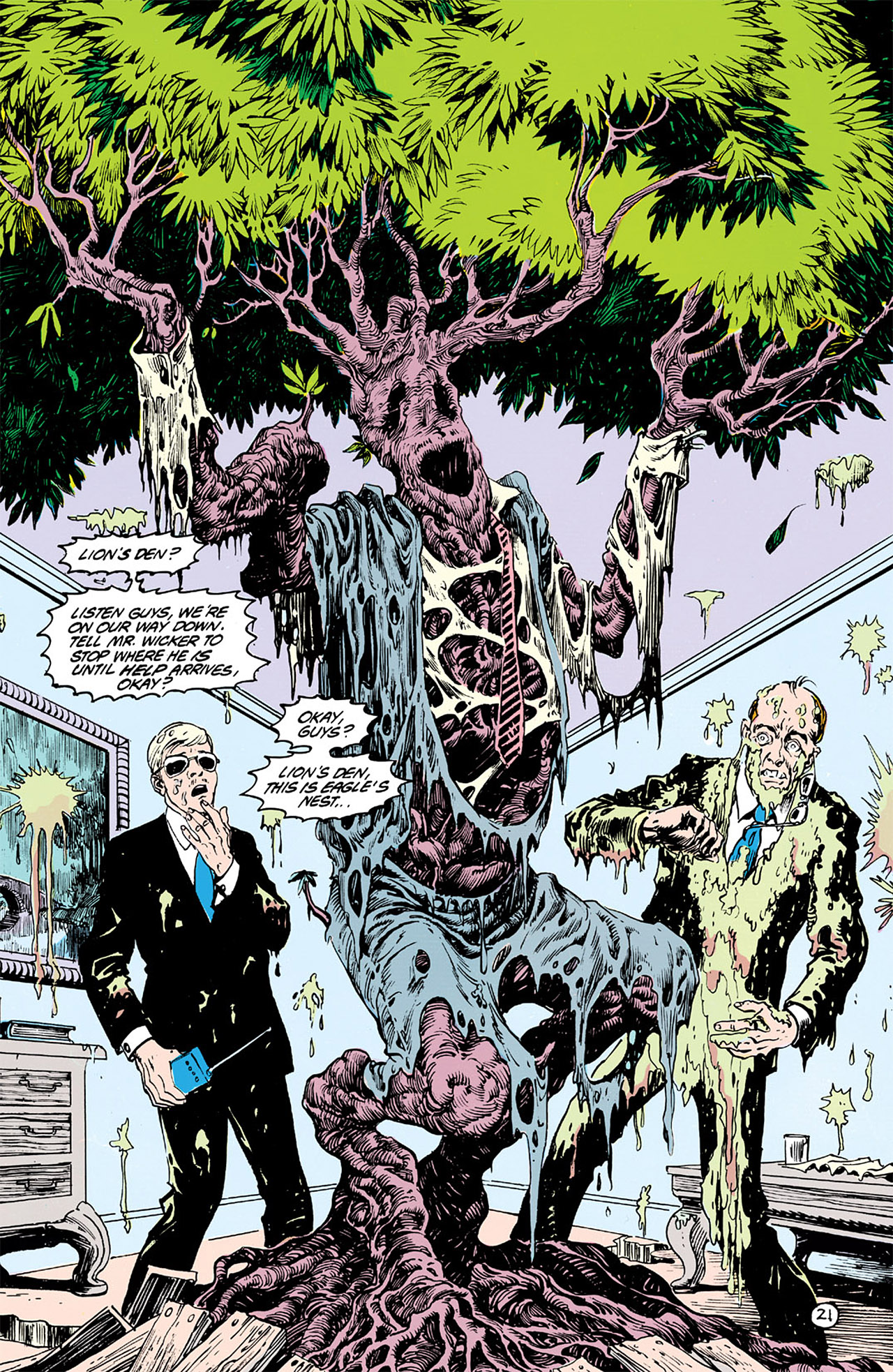 Swamp Thing (1982) Issue #63 #71 - English 21