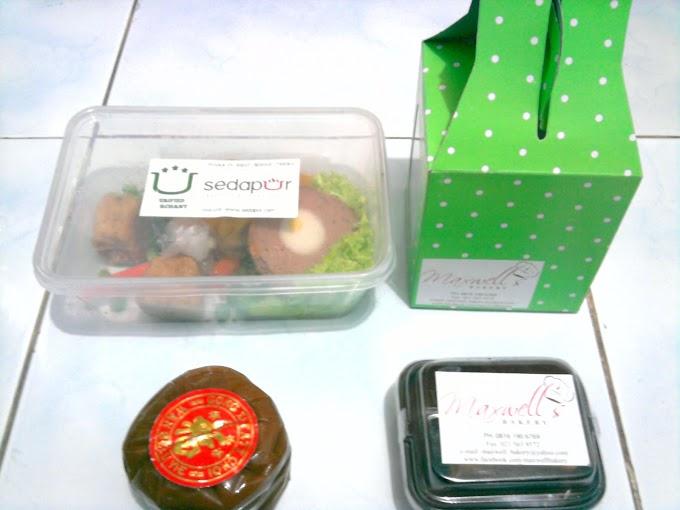 Menikmati Tasting Box 3 dari Sedapur