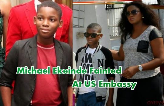 omotola jalade son fainted us embassy