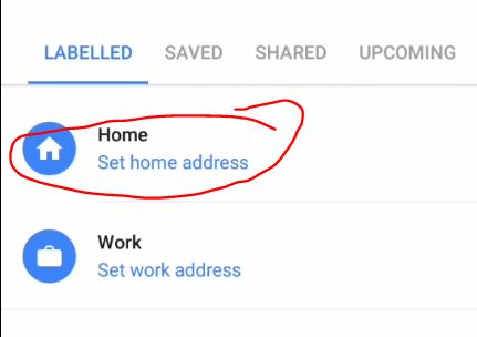 How to set your current location as Home location on Google ... Set Home In Google Maps on tomtom home maps, google earth street view, search maps, google home work, google earth dead body, google earth oahu, google home page design, google home plans,