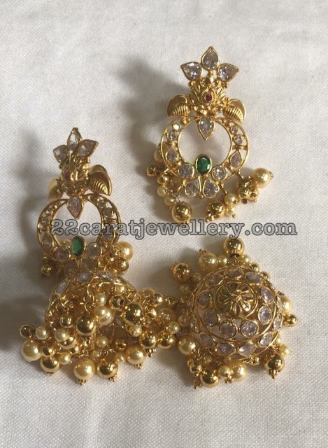 Detachable 2 in 1 Jhumkas
