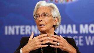 η Κριστίν Λαγκάρντ  Γενική Διευθύντρια του ΔΝΤ