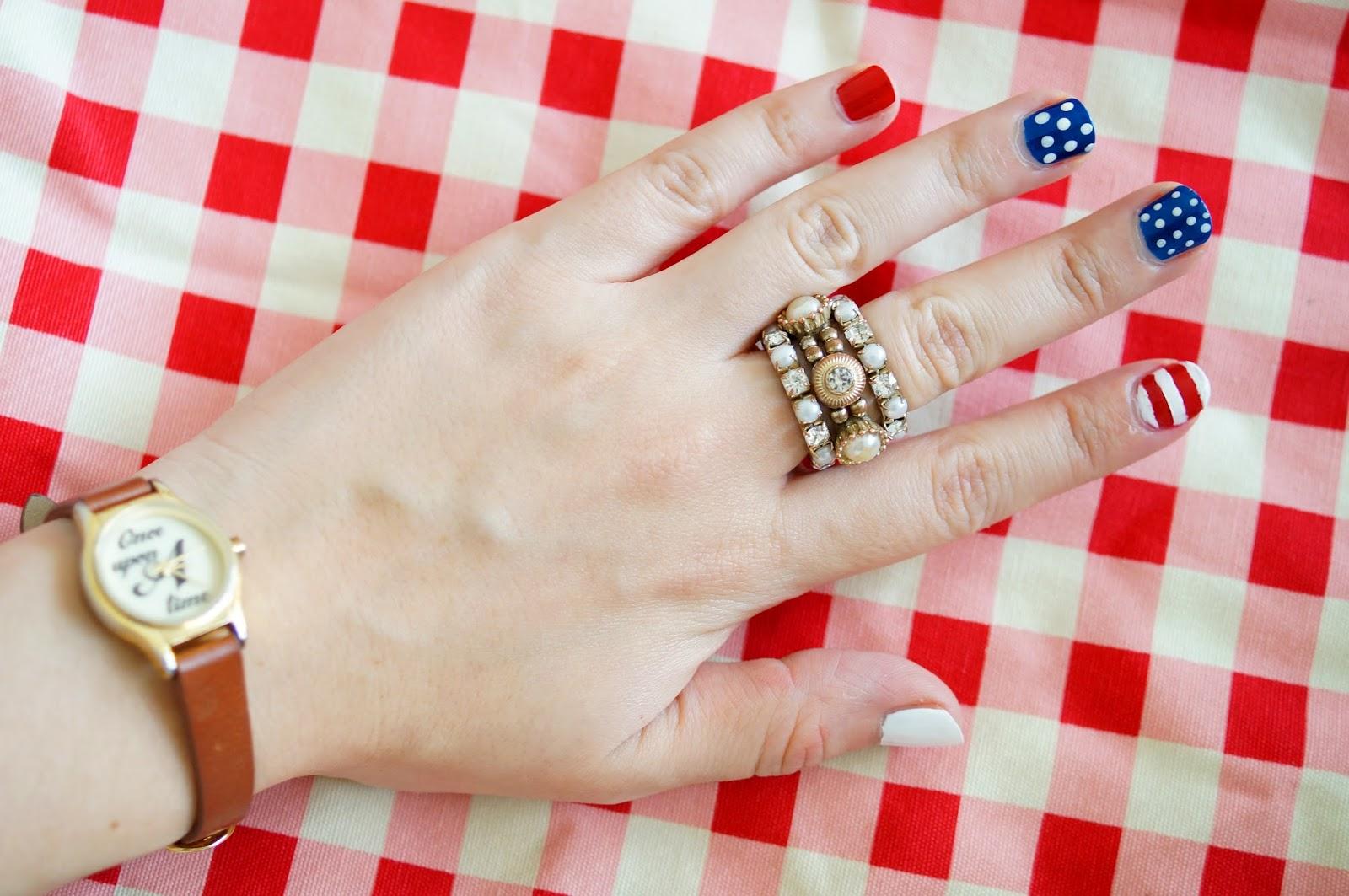 July 4 Nails, Americana Nails