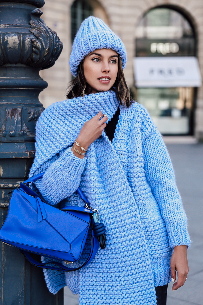 PARIS FASHION WEEK BLUES