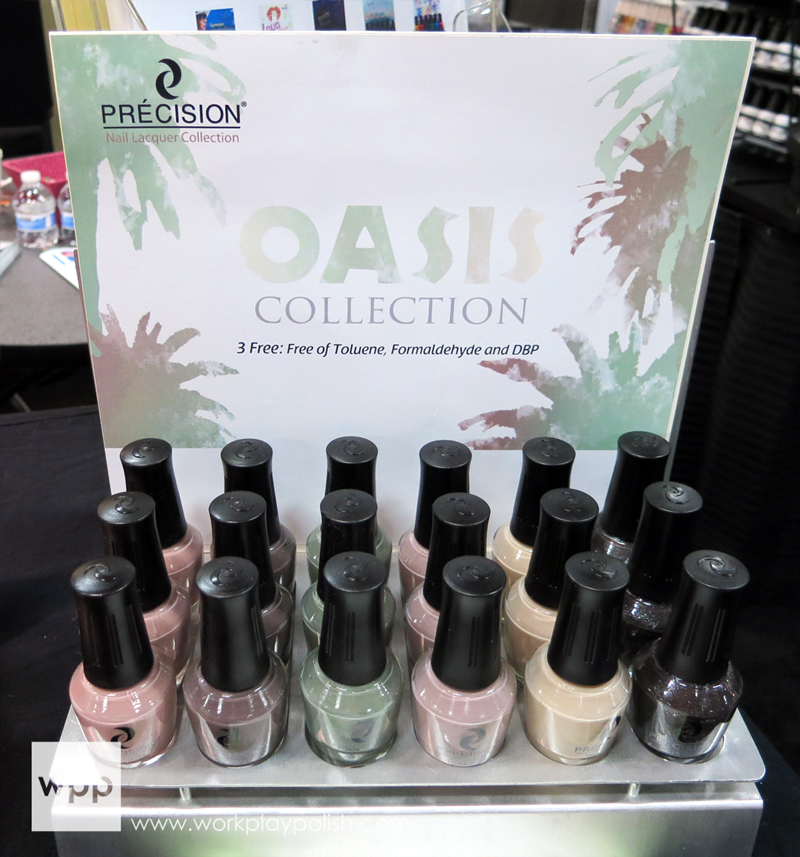 Precision Nail Lacquers Oasis Collection