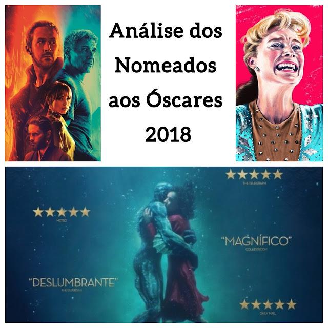 Análise, filmes, nomeado ao óscar, 2018