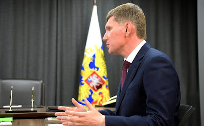 Acting Governor of Perm Territory Maxim Reshetnikov.