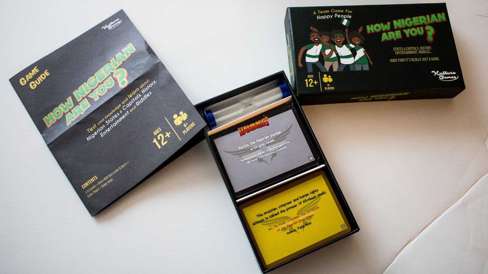 The do it yourself lady how nigerian are you card game fun with the game came in a nicely packaged box solutioingenieria Gallery