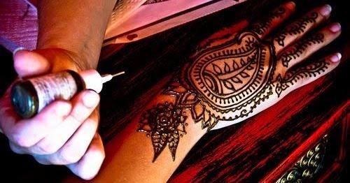 Henna Tattoo Ink Smeared: How To Make Henna Tattoo Ink: Make Your Own Henna Tattoo
