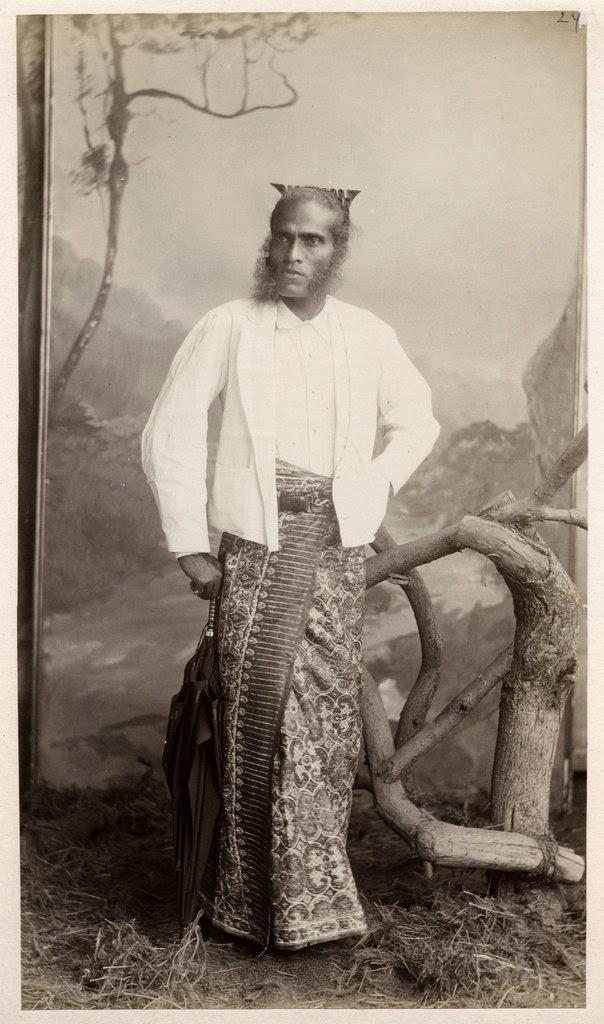 A Sinhalese Gentleman - Ceylon (Sri Lanka) c1880's