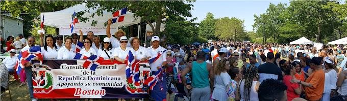 Consulado dominicano en Boston se unió al IX Convite Banilejo con participación de miles