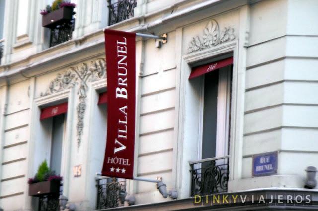 Hotel Villa Brunel 3* París