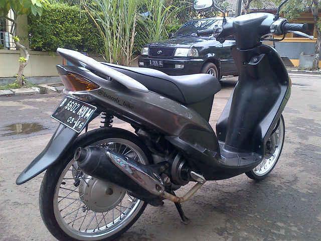 80 Foto Modifikasi Motor Mio Warna Abu Abu Terbaru