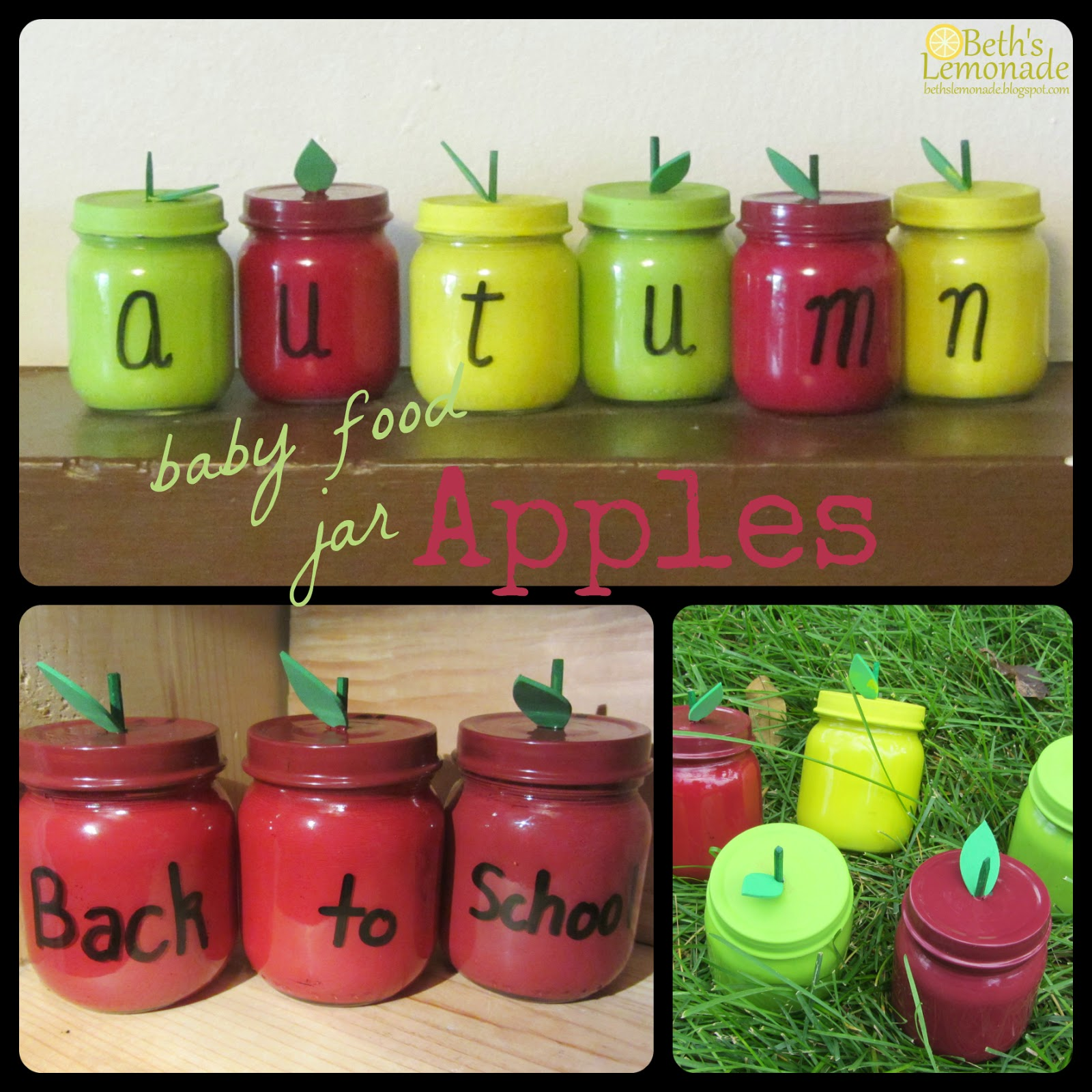craft ideas for baby food jars beth s lemonade baby food jar week baby s 7554