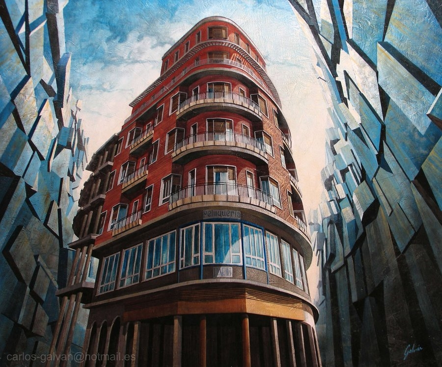 13-Paris-en-Talavera-Carlos-Galvan-Fantasy-Cityscapes-depicted-in-Paintings-www-designstack-co