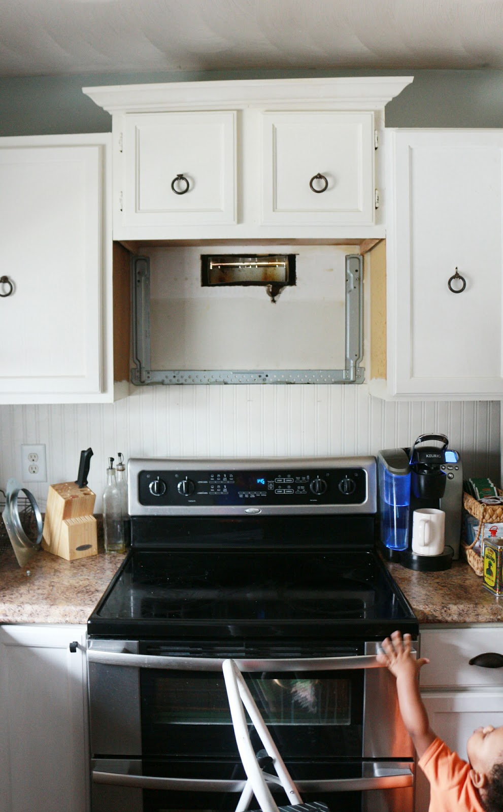 Over The Range Hood Installation