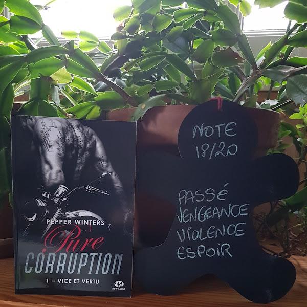 Pure corruption, tome 1 : Vice et vertu de Pepper Winters