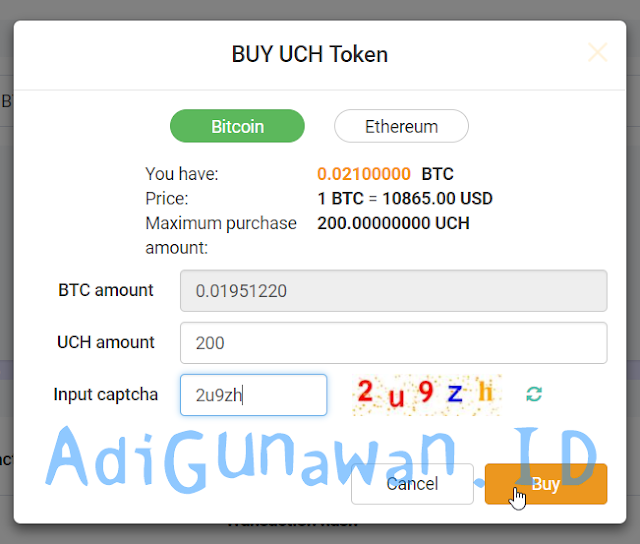 Review UcoinCash