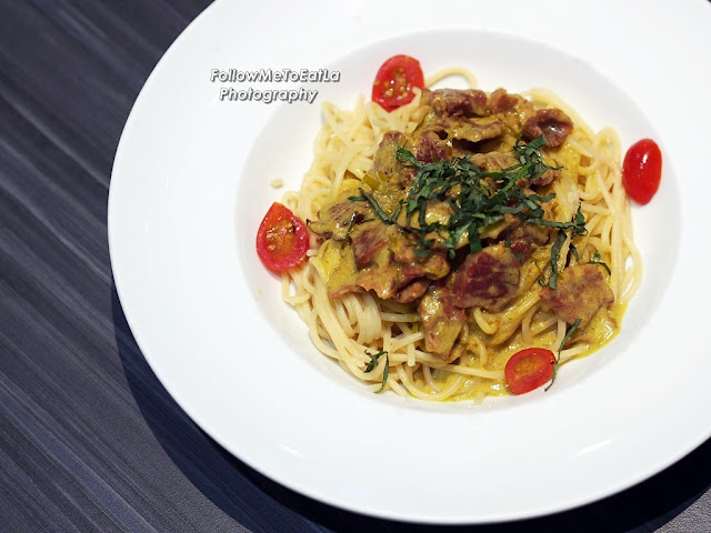 Spicy Smoked Beef Pasta RM 16.90