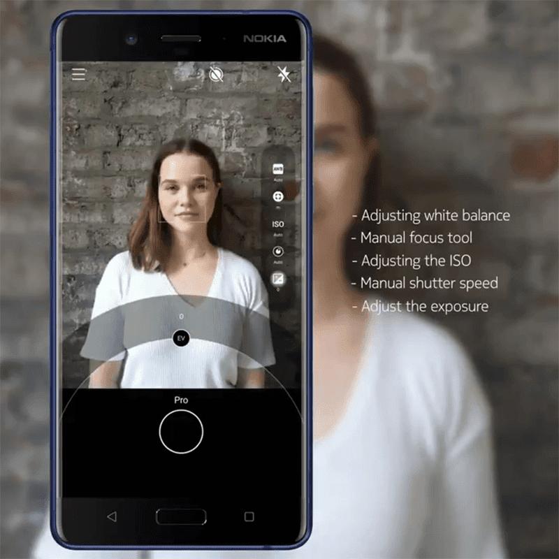 Nokia 8 now has Camera Pro mode!