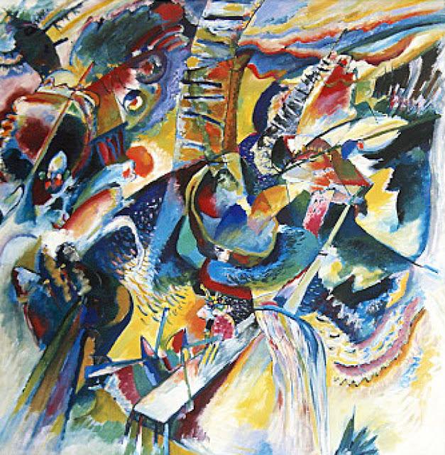 抽象画を生み出した画家、ワシリー・カンディンスキー【a】 即興渓谷