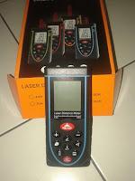 Meteran laser Digital Marc Davis Jarak Ukur 100 Meter
