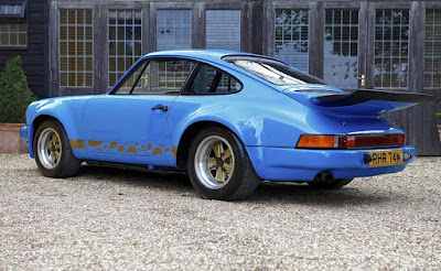 1974 Porsche 911 Carrera RS Lord Mexborough Rear Left