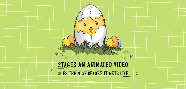 Stages an animated video goes through before it gets life