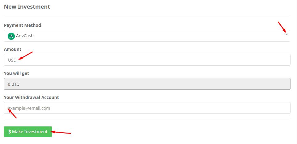 Регистрация в BitBuild 4