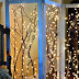 Watch How He Creates This Fabulous Twinkling Branches Room Divider