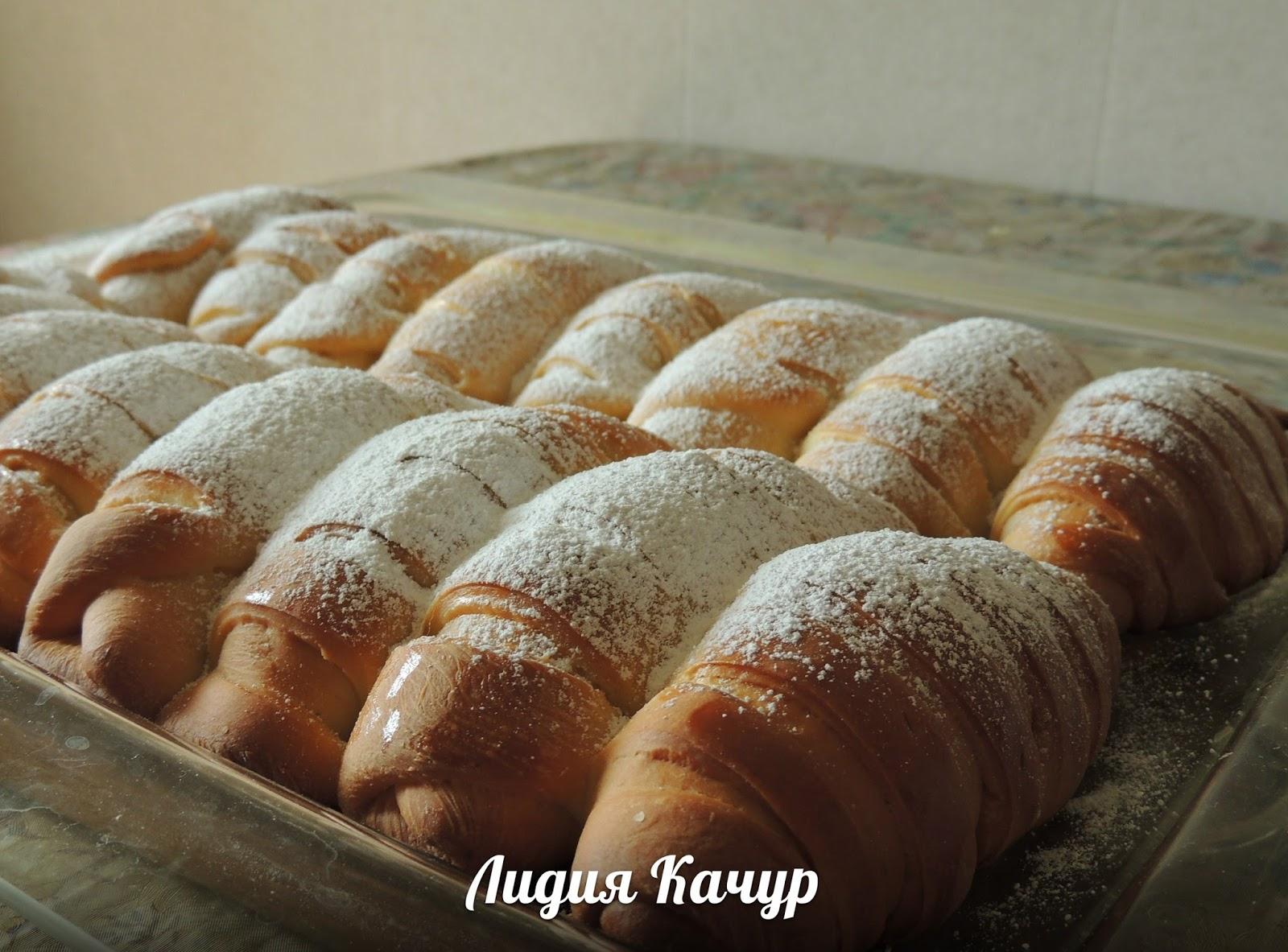 Французское тесто для булочек