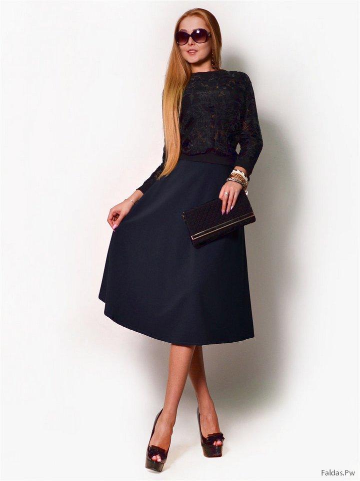 2541c5575 Faldas Ejecutivas ¡Más de 20 Bellas Ideas! | Faldas | Moda 2019 - 2020