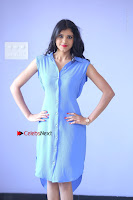 Telugu Actress Mounika UHD Stills in Blue Short Dress at Tik Tak Telugu Movie Audio Launch .COM 0116.JPG