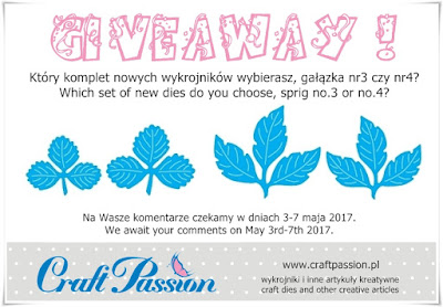 Craftpassion Giveaway