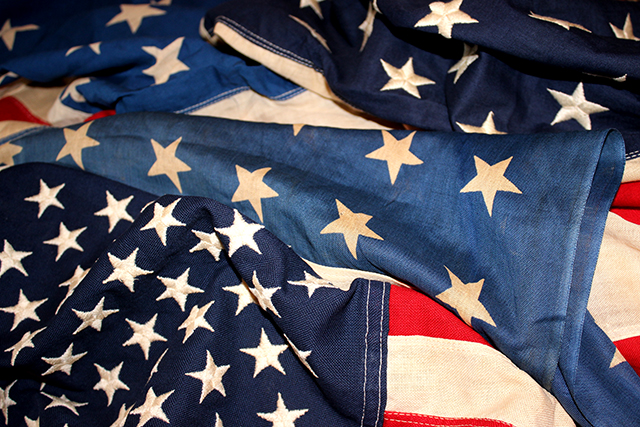 vintageamericanflagアメリカ国旗48star50stargreenangleグリーンアングル