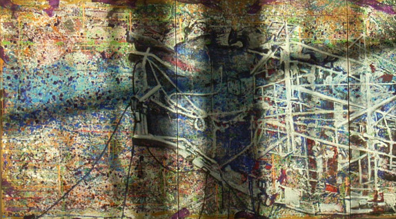 Fukushima 2011 painting