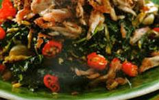 Resep praktis (mudah) tumis daun pepaya spesial (istimewa) enak, sedap, gurih, nikmat, lezat