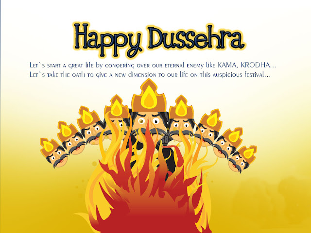 Happy Dussehra SMS in English