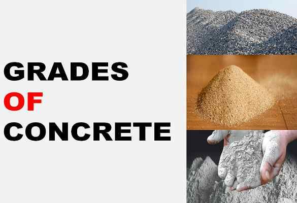 Grades of concrete
