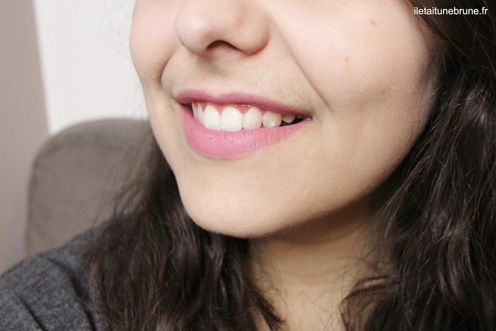 Rouge à lèvres kiko, velvet passion matte lipstick mauve