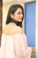 Rakul Preet Singh in lovely Pink Crop Top and Black Trousers at Jaya Janaki Nayaka success meet 019.JPG