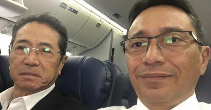 JAIME YOSHIYAMA: Ex secretario general de Fuerza 2011 llegará a Lima para entregarse a la justicia