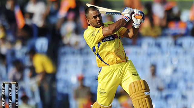 Chennai Super Kings Captain - M S Dhoni