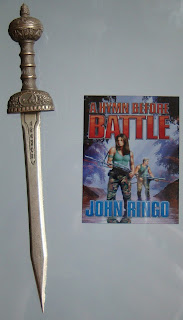 Portada del libro A Hymn Before Battle, de John Ringo