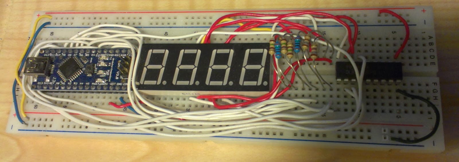 Digitalduino: An Arduino DIY Tachometer Display