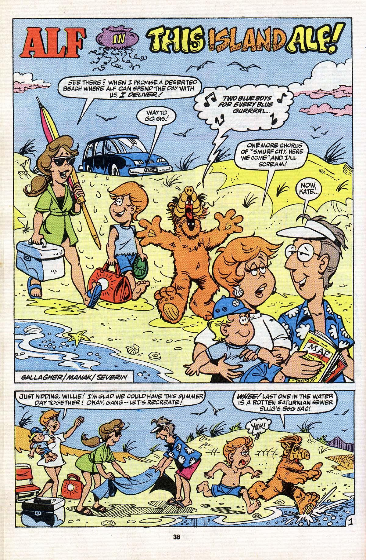 Read online ALF comic -  Issue # _Annual 3 - 34