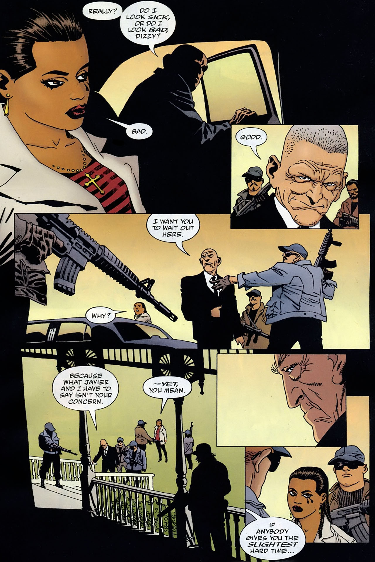 Read online 100 Bullets comic -  Issue #93 - 8