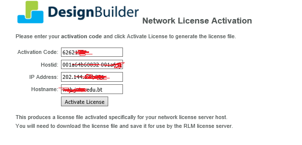 Designbuilder Software How To Generate New License File Lic How To Make Designbuilder License Server Work With The New Server Hostname
