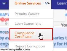 compliace certificate